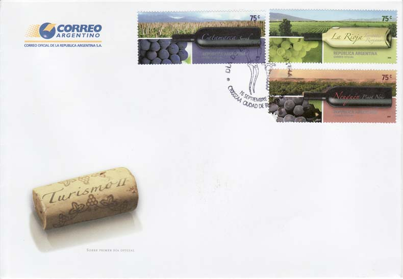 Argentina FDC