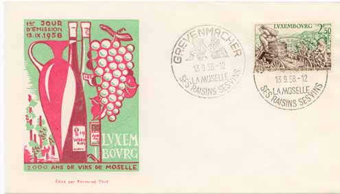 Lunemburg First Day Cover